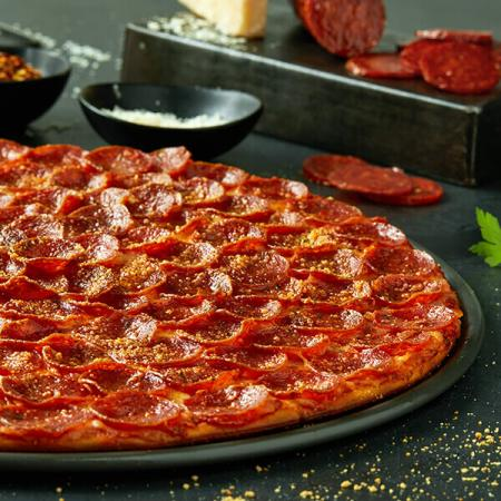 $36.99 for three large 1-topping pizzas